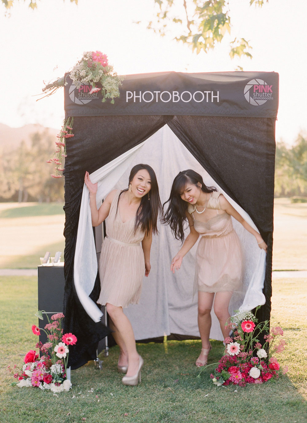 Image of Photo Booth with Privacy Enclosure