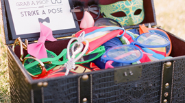 Party Props | fun hats, sunglasses, boas, tiara's, etc