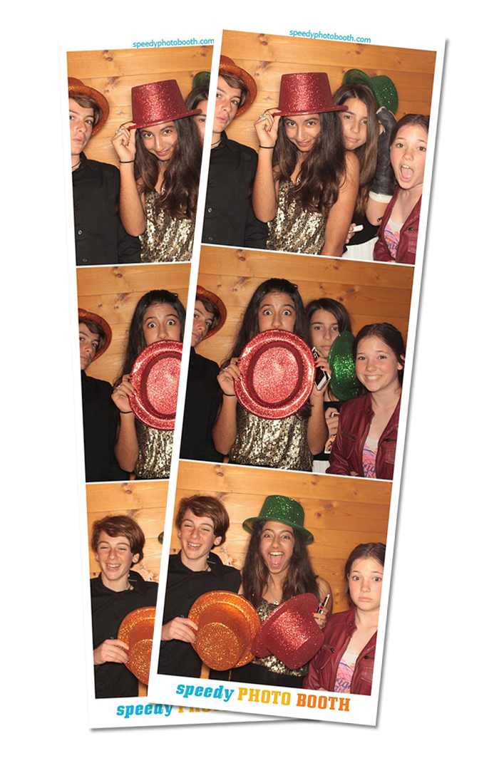 Photo Strip Print from Ryan's Bar Mitzvah | 03.29.2014