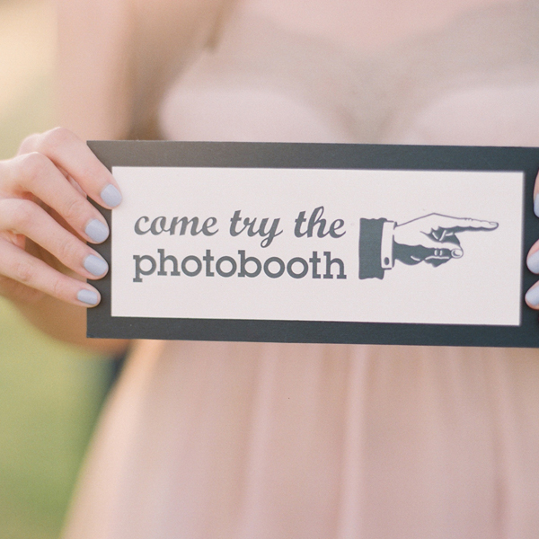 Come Try the Photo Booth