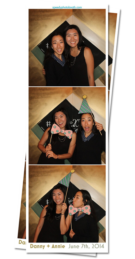 Open Air Photo Booth Image from Annie and Danny Wedding | 6.7.2014