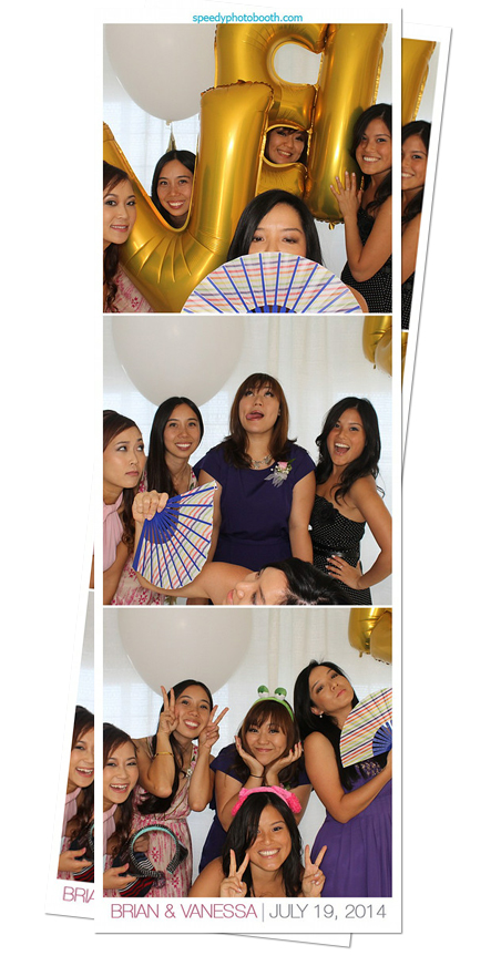 Photo Booth Image from Brian and Vanessa Wedding | 7.19.2014