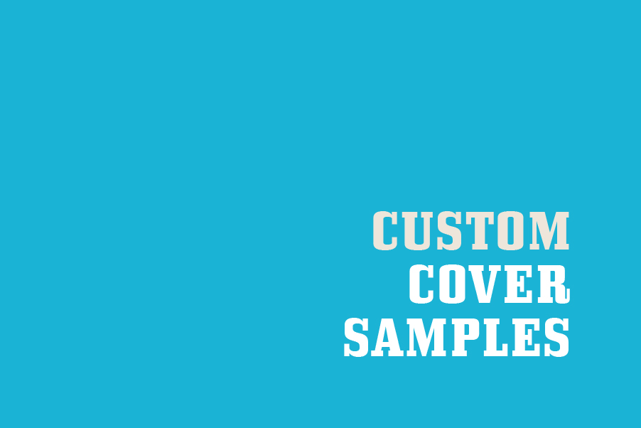 Work with our Graphics Team to Design Your Custom Cover