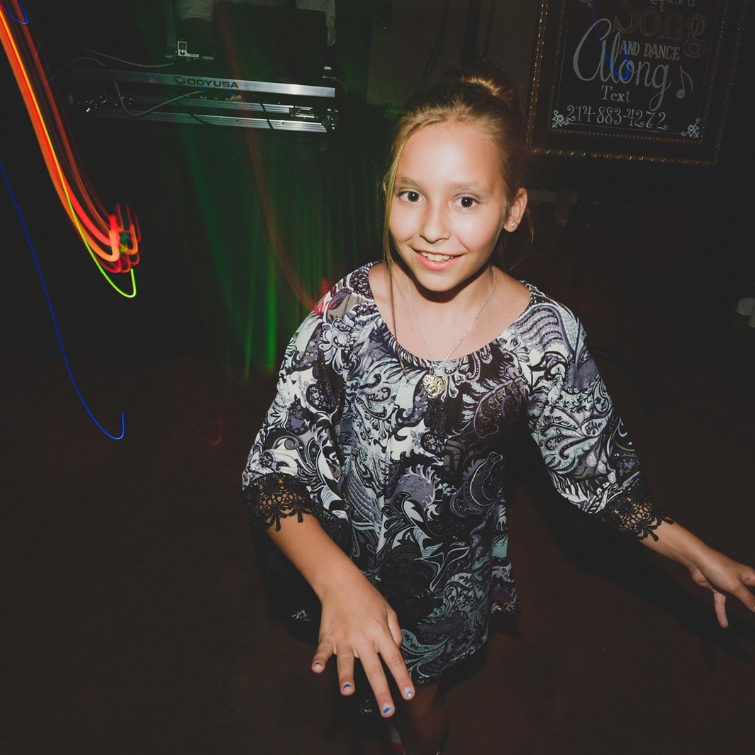 A Young Guests Busts Out Her Moves